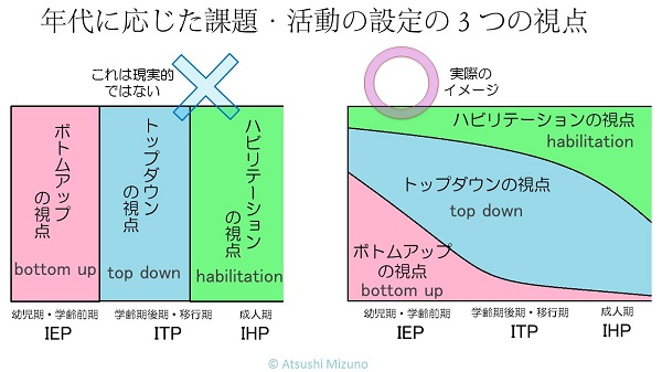 IEP ITP IHP の間違った視点