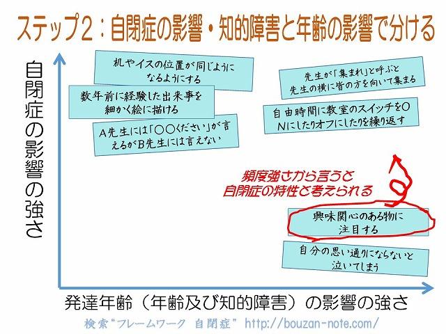 ステップ2自閉症と発達年齢の影響 (4)