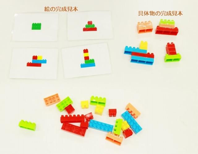 ブロック組み立て完成見本